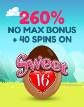 Satisfy your Sweet Tooth with 40 Spins